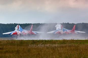 "10 - Russia - Air Force ""Strizhi"" Mikoyan-Gurevich MiG-29A"