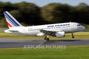 F-GUGR - Air France Airbus A318