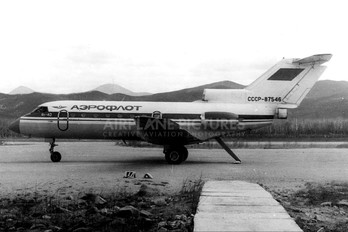 СССР-87546 - Aeroflot Yakovlev Yak-40