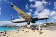 N206UW - US Airways Boeing 757-200 aircraft