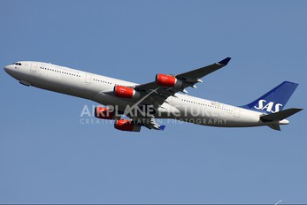 OY-KBC - SAS - Scandinavian Airlines Airbus A340-300