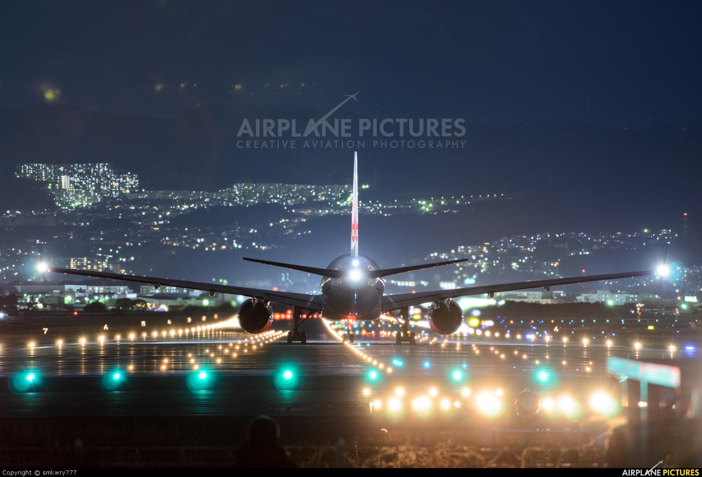 JAL - Japan Airlines JA010D aircraft at Osaka - Itami Intl