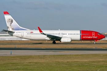 LN-DYV - Norwegian Air Shuttle Boeing 737-800