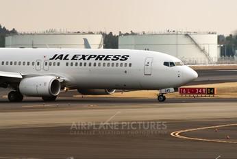 JA345J - JAL - Express Boeing 737-800