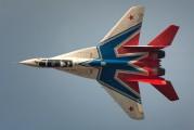 "02 - Russia - Air Force ""Strizhi"" Mikoyan-Gurevich MiG-29UB aircraft"