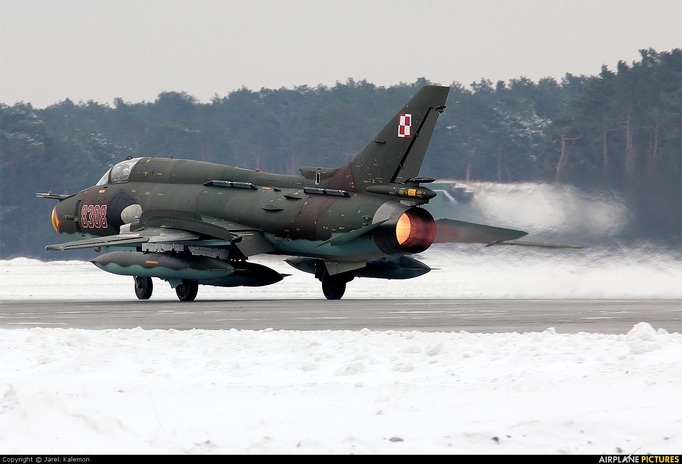 Poland - Air Force 8308 aircraft at Bydgoszcz - Szwederowo