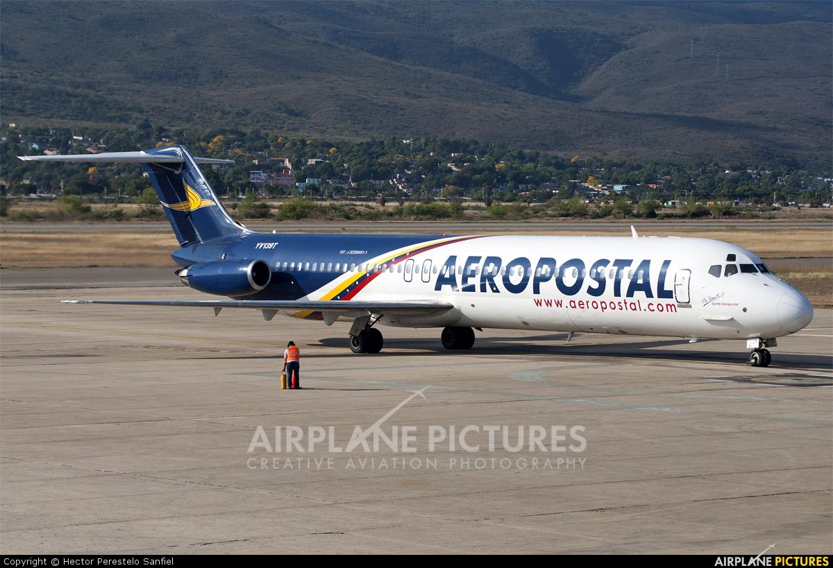 Aeropostal YV139T aircraft at Barquisimeto - Jacinto Lara