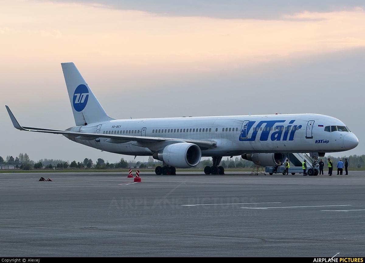 UTair VQ-BEY aircraft at Tyumen-Roschino