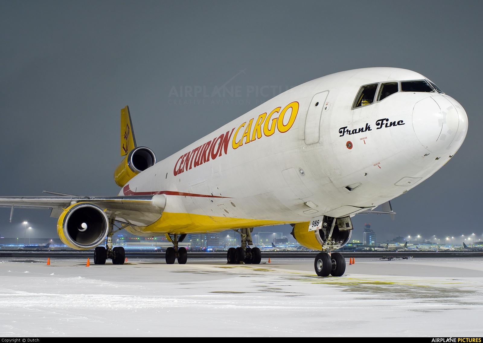 Centurion Air Cargo N985AR aircraft at Amsterdam - Schiphol