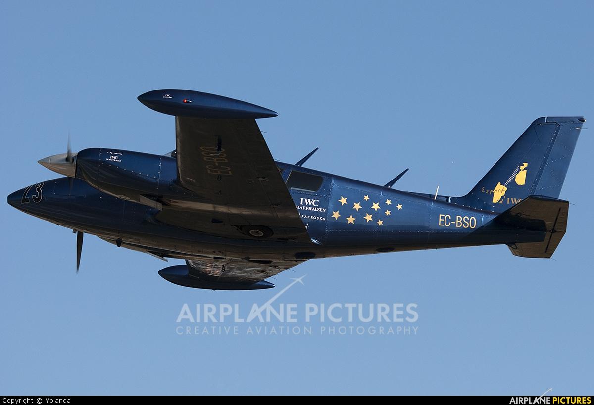 Private EC-BSO aircraft at Sabadell