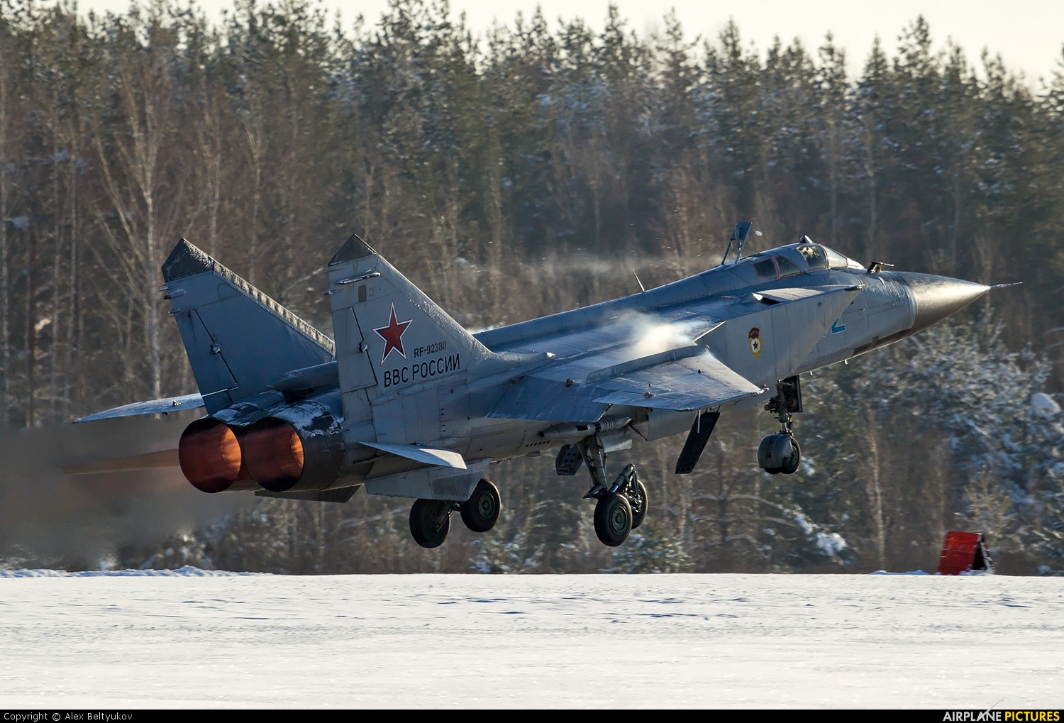Russia - Air Force 92 aircraft at Undisclosed Location