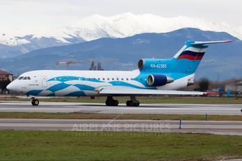RA-42365 - Tulpar Air Yakovlev Yak-42