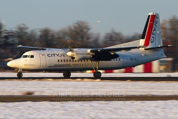 OO-VLJ - CityJet Fokker 50