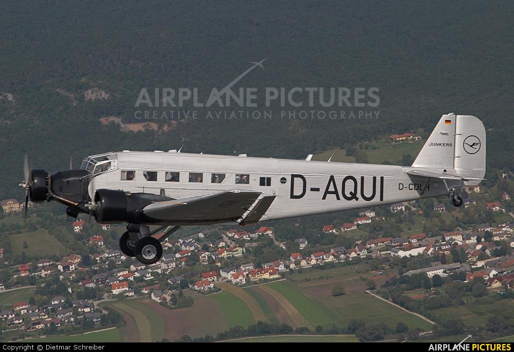 Lufthansa (Berlin-Stiftung) D-CDLH aircraft at In Flight - Austria