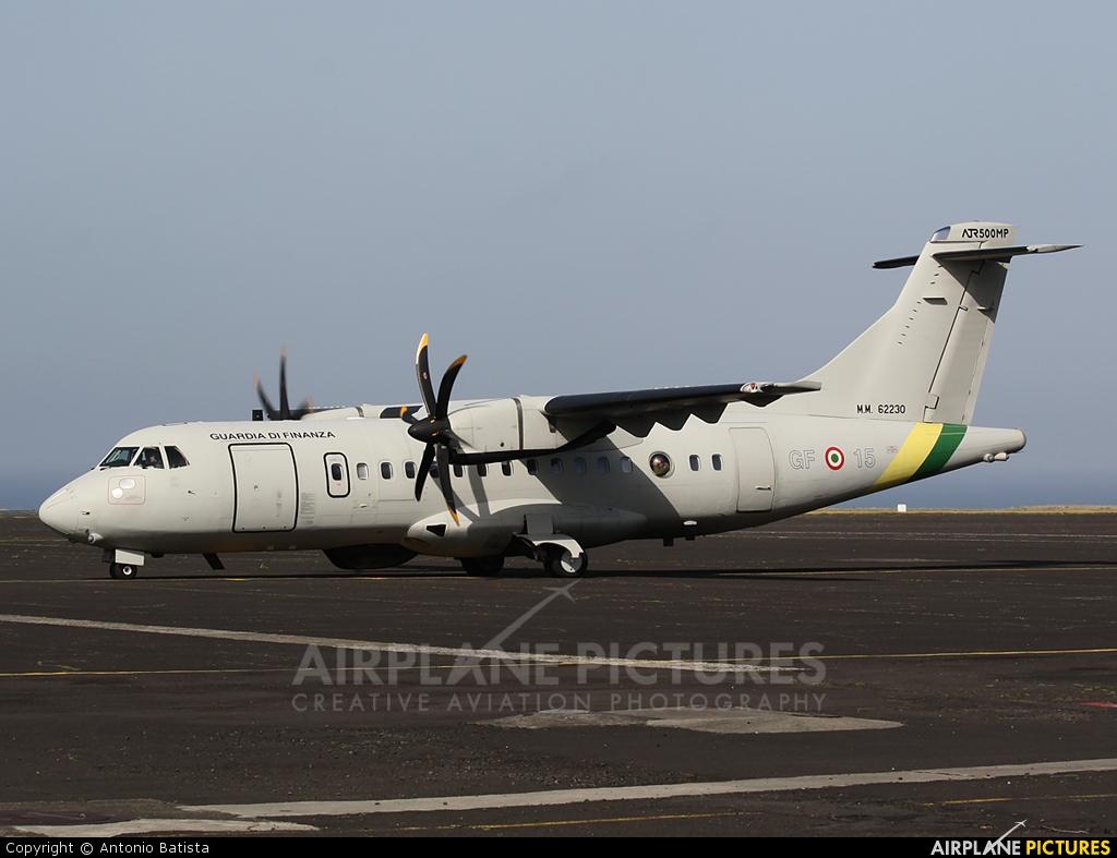 Italy - Guardia di Finanza MM62230 aircraft at Azores - Santa Maria