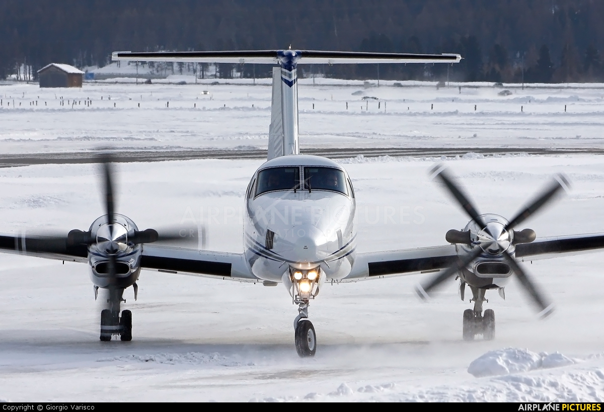 Private OK-HLB aircraft at Samedan - Engadin