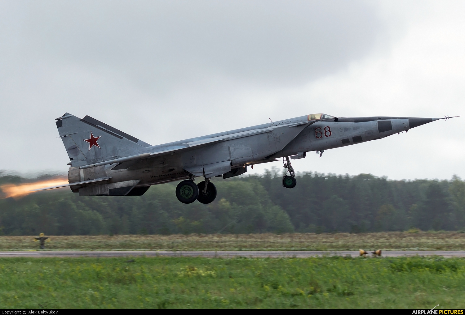 Russia - Air Force 68 aircraft at Undisclosed Location