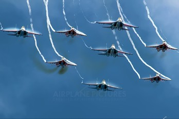 "- - Russia - Air Force ""Russian Knights"" Sukhoi Su-27"