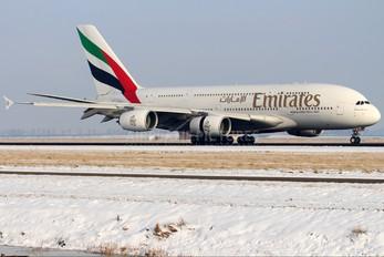 A6-EDU - Emirates Airlines Airbus A380