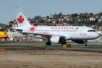 C-GBIP - Air Canada Airbus A319