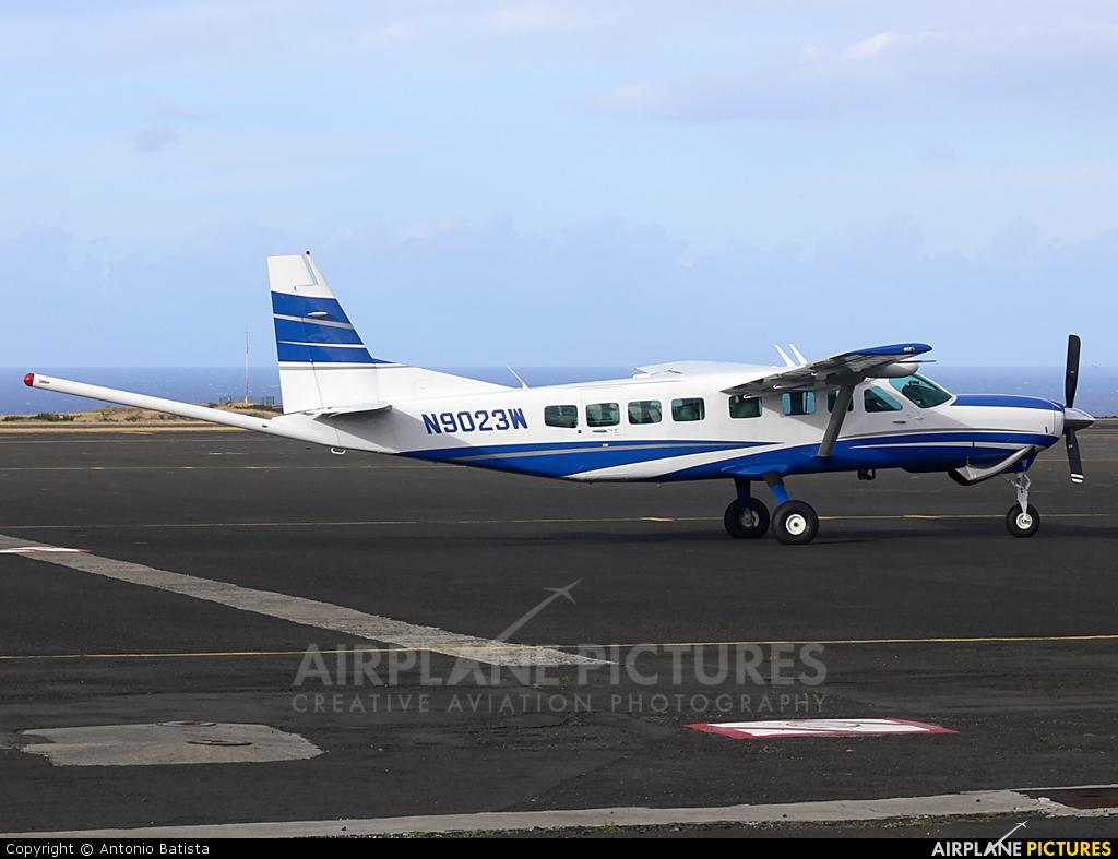 Private N9023W aircraft at Azores - Santa Maria