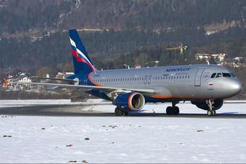VP-BZO - Aeroflot Airbus A320