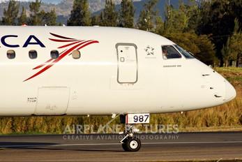 N987TA - TACA Embraer ERJ-190 (190-100)