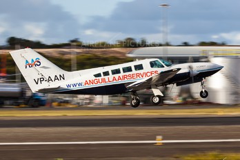 VP-AAN - Anguilla Air Services Cessna 402C