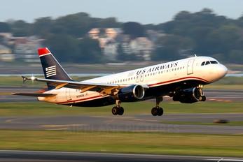 N109UW - US Airways Airbus A320