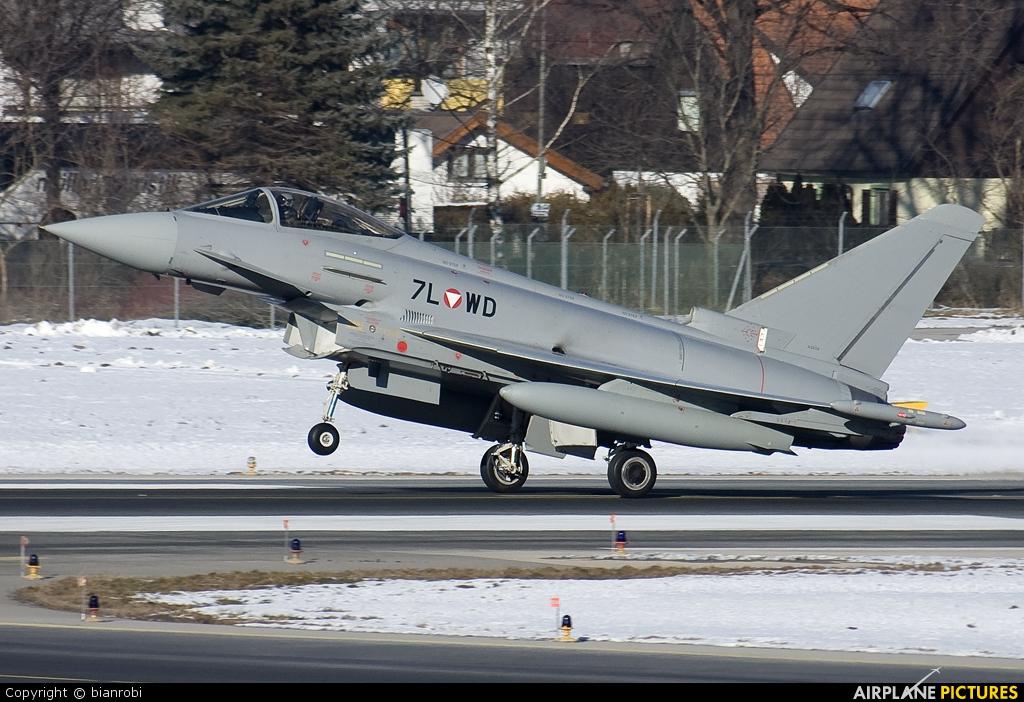 Austria - Air Force 7L-WD aircraft at Innsbruck