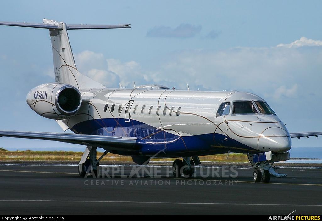 ABS Jets OK-SLN aircraft at Azores - Santa Maria