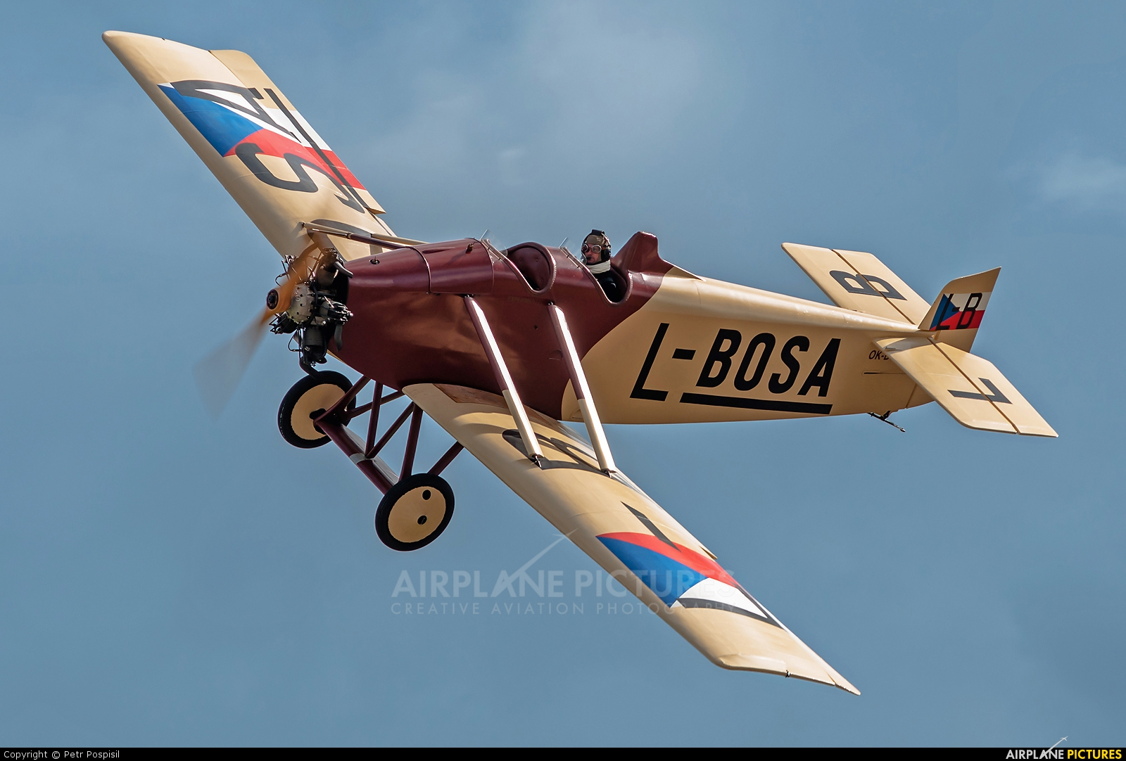 Private OK-BOS aircraft at Plzeň - Líně