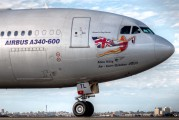 G-VATL - Virgin Atlantic Airbus A340-600 aircraft