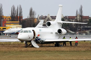 VP-CSW - Volkswagen Air Services Dassault Falcon 7X