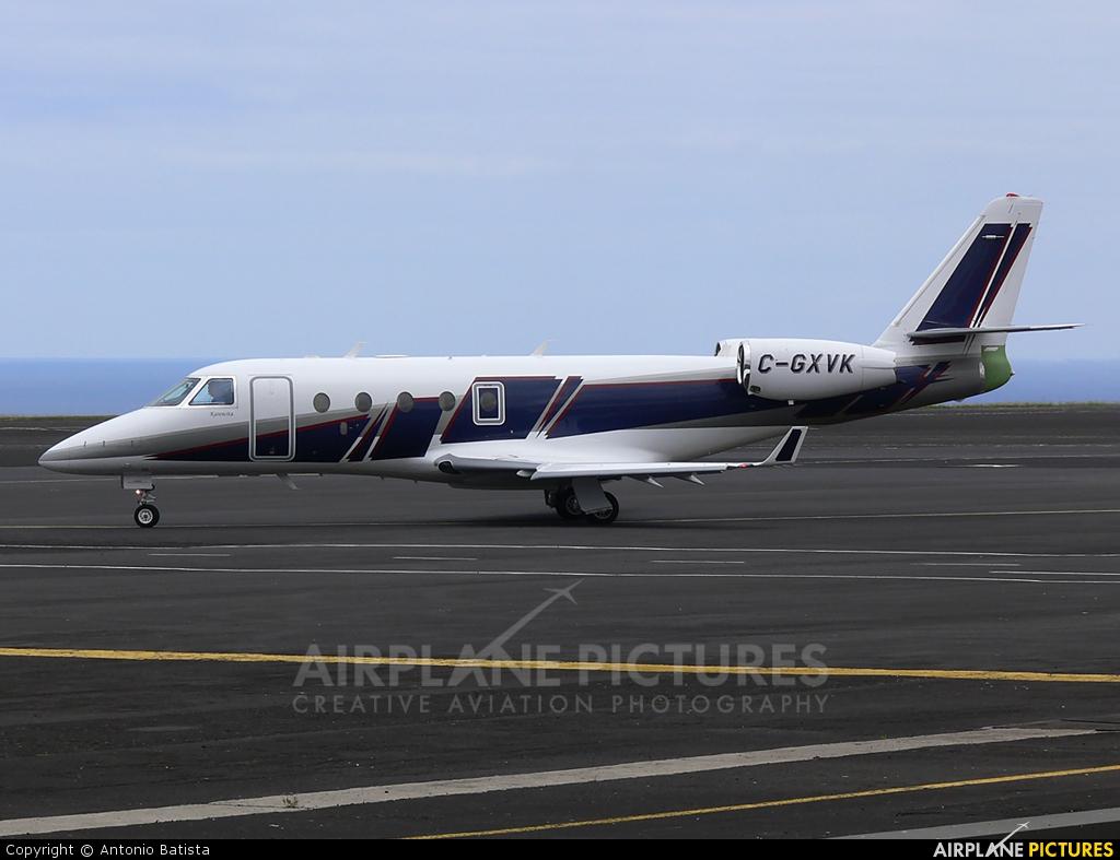 Private C-GXVK aircraft at Azores - Santa Maria