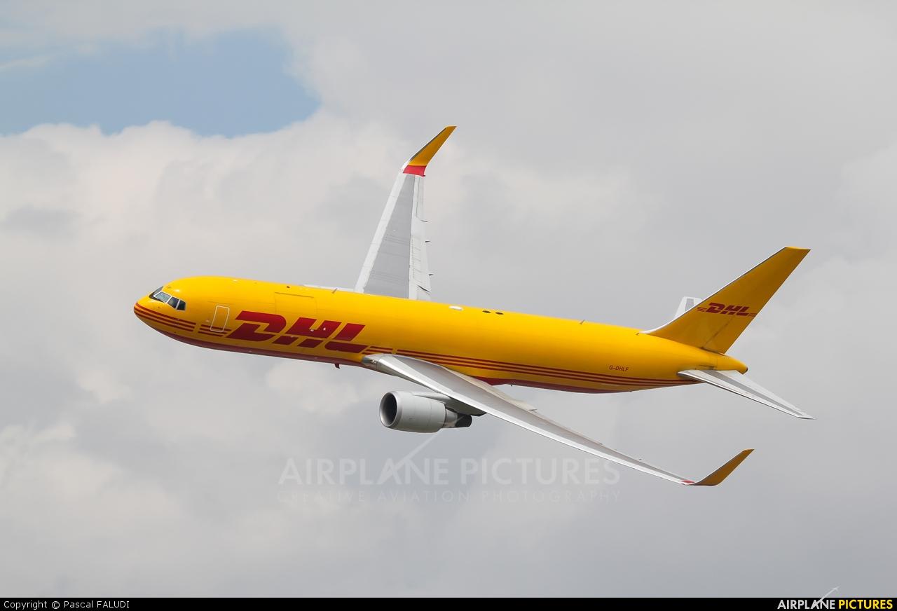 DHL Cargo G-DHLF aircraft at Fairford
