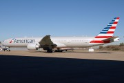 American Airlines 777-300 in the new colors title=
