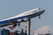 JA8966 - ANA - All Nippon Airways Boeing 747-400 aircraft