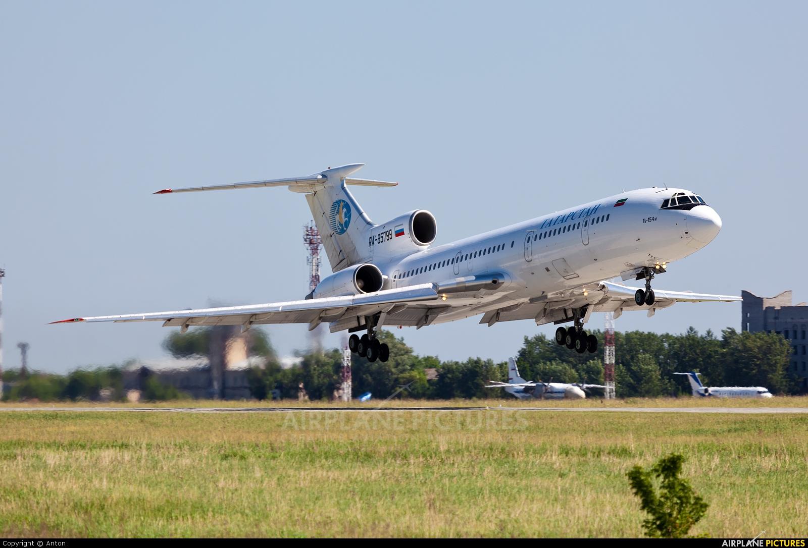 Tatarstan RA-85799 aircraft at Chelyabinsk