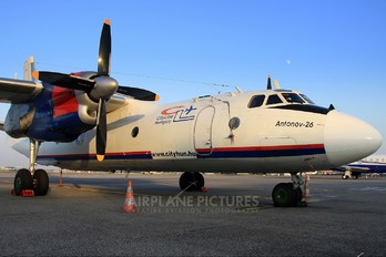 HA-TCN - Cityline Hungary Antonov An-26 (all models)