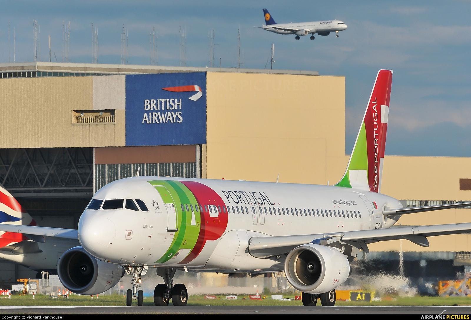 TAP Portugal CS-TMW aircraft at London - Heathrow