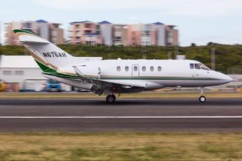N676AH - Private Hawker Beechcraft 850XP