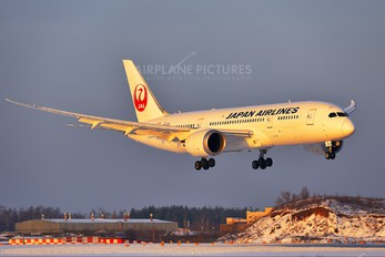 JA822J - JAL - Japan Airlines Boeing 787-8 Dreamliner