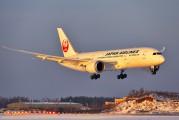 JA822J - JAL - Japan Airlines Boeing 787-8 Dreamliner aircraft