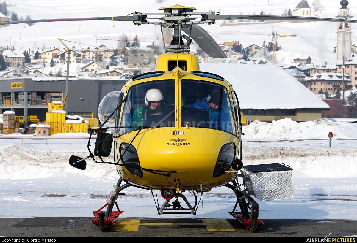 Heli Bernina HB-ZIS aircraft at Samedan - Engadin