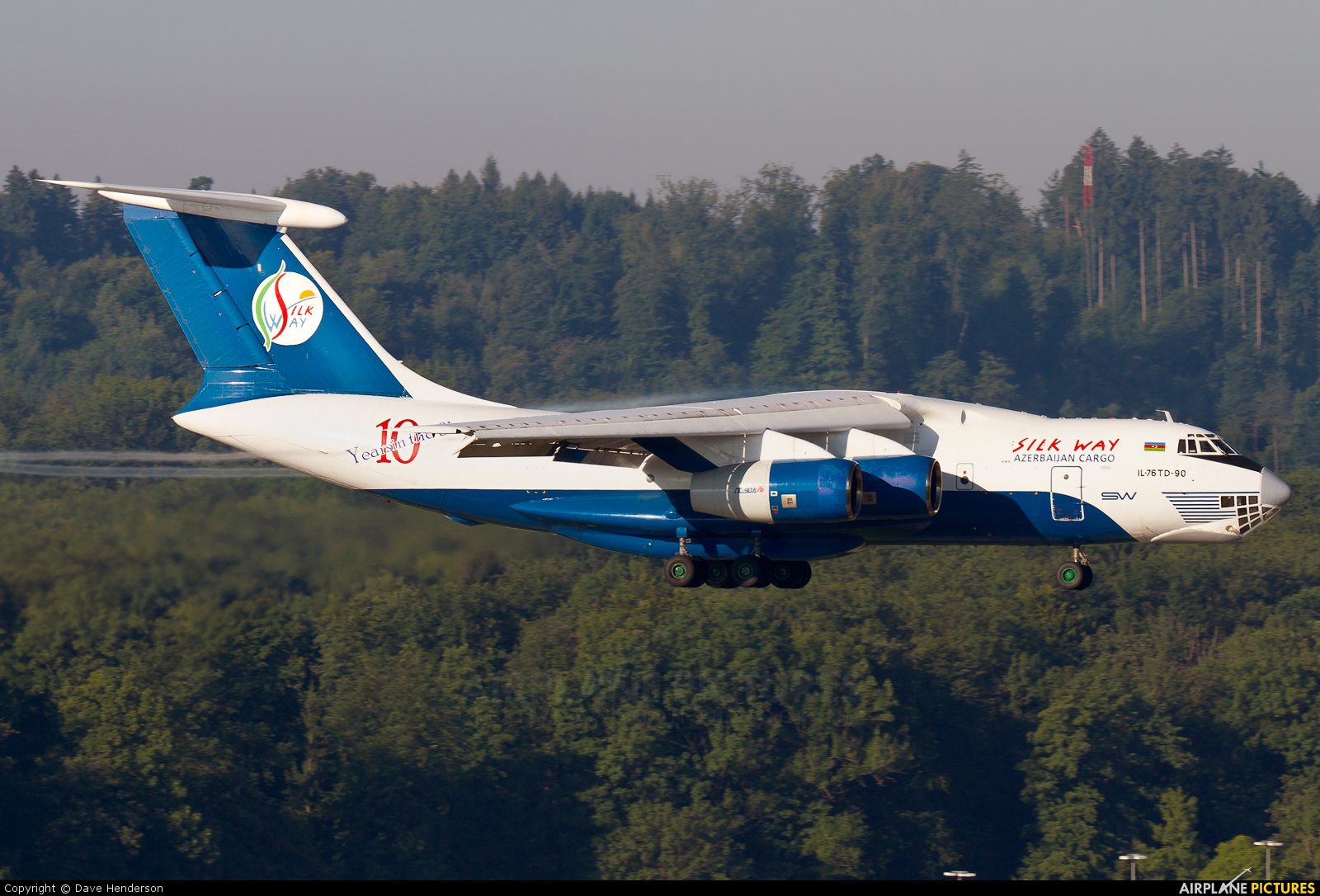 Silk Way Airlines 4K-AZ101 aircraft at Zurich