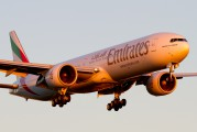 A6-ECJ - Emirates Airlines Boeing 777-300ER aircraft