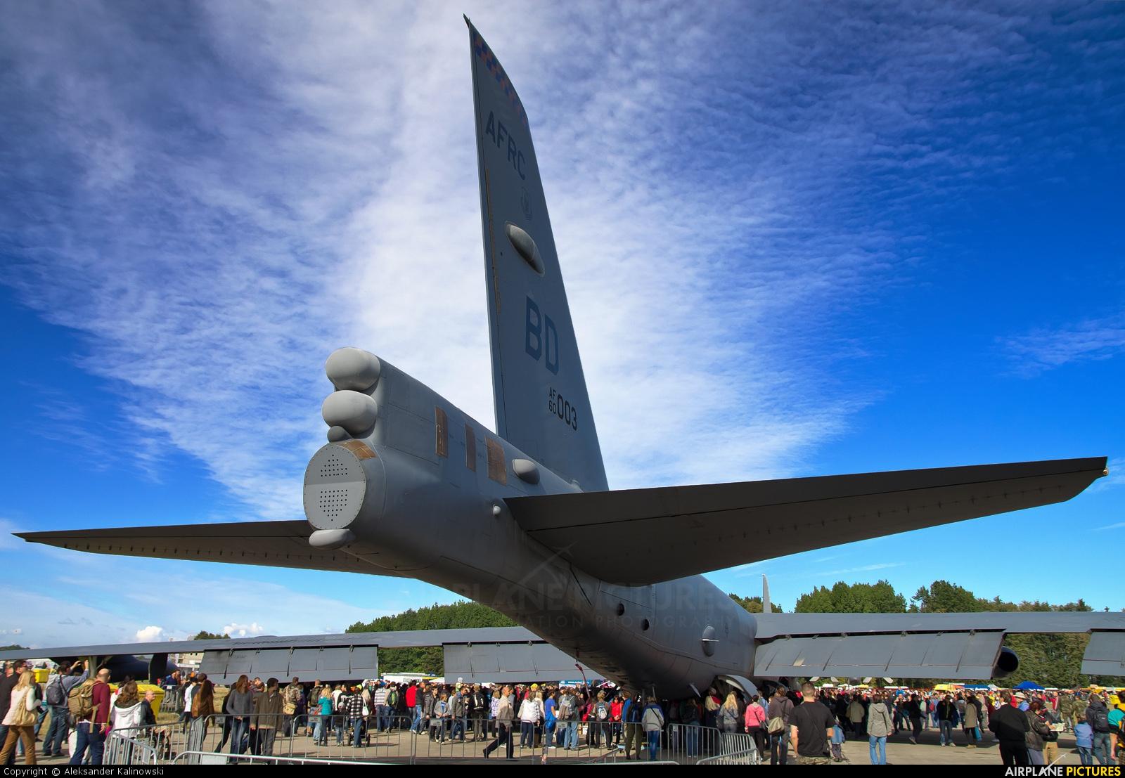 USA - Air Force 60-0003 aircraft at Ostrava Mošnov