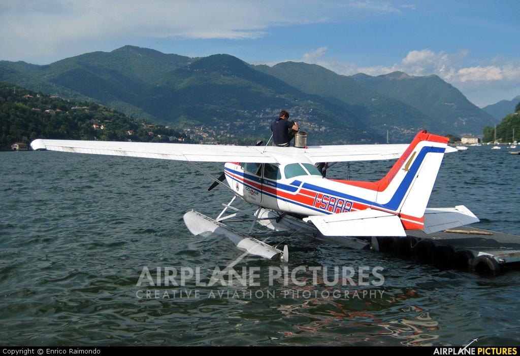 Aero Club Como I-SAAB aircraft at Como Idroscalo