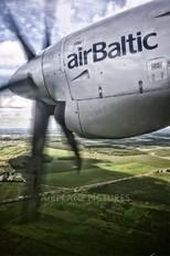 YL-BAO - Air Baltic Fokker 50